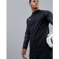 Puma Football Nxt Half Zip Sweat In Black 65558201 - Black