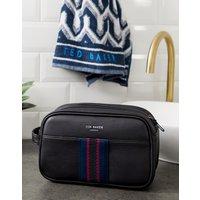 Ted Baker Benny Wash Bag and Towel Gift Set - Black