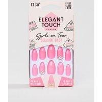 Elegant Touch Girls On Tour Collectoin Stiletto False Nails - Beachin
