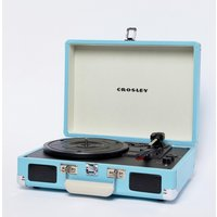Crosley Cruiser Deluxe Record Player - Turquoise - Multi