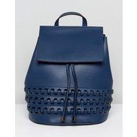 Lavand Backpack With Platt Detailing - Blue
