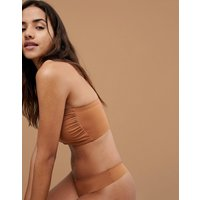 Nubian Skin Naked Collection Nude Bandeau Bra In Warm - Warm