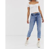 Pepe Jeans Violet straight cut jeans - 000 light blue d