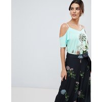 Oasis Natural History Collection Cami In Placement Floral Print - Multi