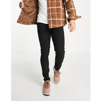 Only & Sons skinny fit jeans in black - Black