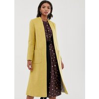 Helene Berman Wool Blend Duster Coat