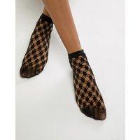 Wolford Athina Socks - Black