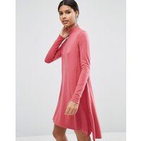 ASOSASOS Knit Tunic Dress in Cashmere Mix - Blush