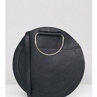 Accessorize Large Black Circular Bag - Black