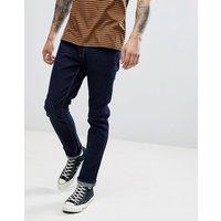 LDN DNM Slim Fit Jeans in True Indigo - Blue