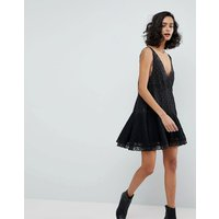 Free PeopleFree People Any Party Trapeze Slip Dress - Black