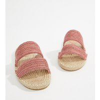 Sandalias tipo chinelas de esparto Java de ASOS DESIGN