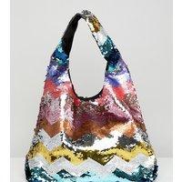 Accessorize Rainbow Sequin Grab Bag - Rainbow