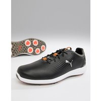Puma Golf Power Adapt Leather Shoes In Black - Black