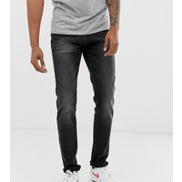 Jacamo tapered fit jeans in black wash - Blackwash