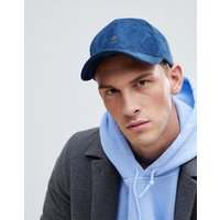 French Connection Suedette Baseball Cap - Blue
