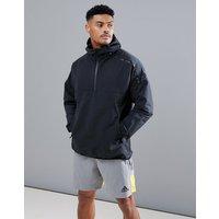 Adidas Zne Hooded Anorak In Black Cg0249 - Black