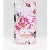 Ted Baker Pink Floral Iphone 6/6s/7/8 Clip Case - Lt Pink