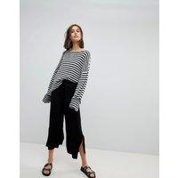 Pantalones capri con cordón ajustable de ASOS DESIGN