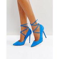 Zapatos de salón de punta de ante Hilda de Office