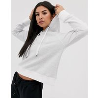 Dkny Boxy Hoodie Clear Lacquer Logo