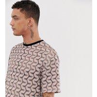 Camiseta a rayas estilo retro de Heart & Dagger