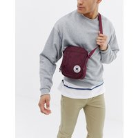 Converse Chuck Taylor Patch Crossbody Bag In Burgundy - Red