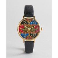 Reloj con estampado de estilo vintage de ASOS DESIGN