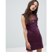Free PeopleFree People Beaumont Muse Lace Detail Dress - Plum