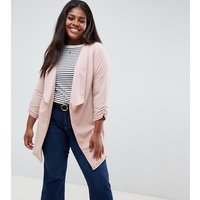New Look Curve Waterfall Blazer - Pink