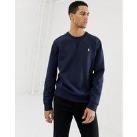 Polo Ralph Lauren icon logo crew neck sweatshirt in navy - Aviator navy