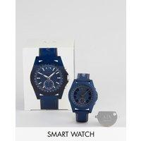 Armani Exchange Axt1002 Drexler Smart Watch - Navy