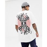 HNR LDN joker back print t-shirt - White