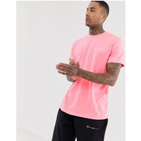Night Addict oversized neon pink t-shirt - Pink