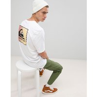 Quiksilver Original Classic Patch T-Shirt in White - White