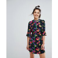 ASOSASOS Bright Floral Tea Dress - Multi