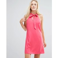 Girls on FilmGirls On Film Tunic Dress With Keyhole Detail - Coral
