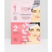 Yes To Grapefruit 2-Step Face Mask Kit - 2 step face