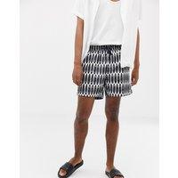 Calvin Klein Drawstring Swim Shorts - Surfs Up Print