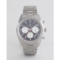 Accurist 7216 Chronograph Bracelet Watch In Silver - Silver