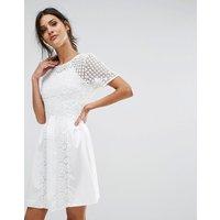 Amy LynnAmy Lynn Crochet Tea Dress - White