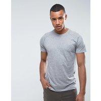 Threadbare Marl T-Shirt - Grey
