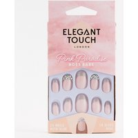 Elegant Touch Pink Paradise False Nails - Boss Babe - Boss Babe