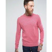 Farah Rosecroft Lambswool Jumper - Pink