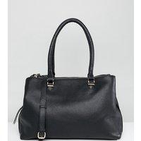 Accessorize Alicia Leather Tote Bag - Black