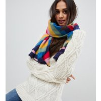 Accessorize Rainbow Blanket Scarf - Rainbow