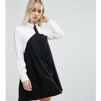 ASOS PetiteASOS PETITE Colourblock Shirt Dress - Multi