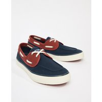 Sperry Topsider Sneaker Boat Shoes In Navy - Navy