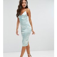 Club LClub L Satin Cami Midi Dress - Mint