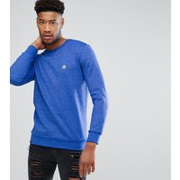 Le Breve TALL Crew Neck Marl Sweater - Navy